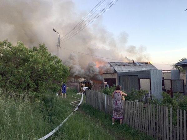 Поминки вМиассе закончились серьезным пожаром