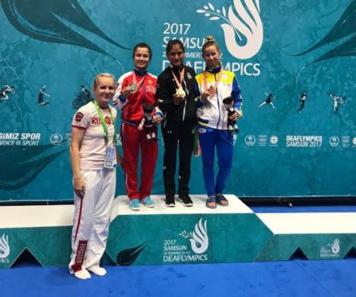 Тамбовчанин завоевал серебро наСурдлимпийских летних играх