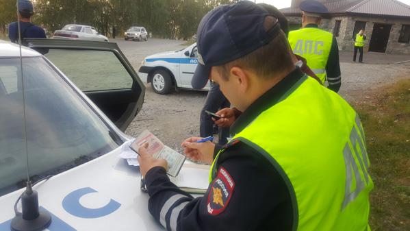 ВМВД уточнили правила остановки авто для проверки документов