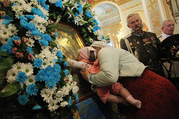 Феодоровская икона Божией Матери доставлена вЧелябинск