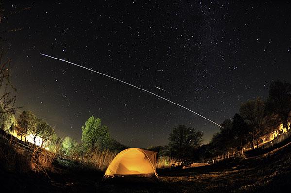 Граждане Челябинска смогут увидеть МКС вночном небе