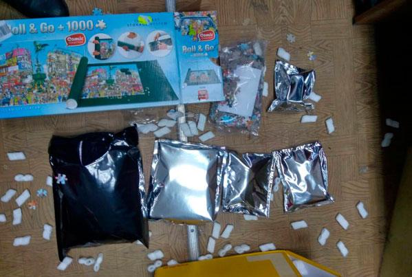 ВЧелябинске впосылках сдетскими игрушками обнаружили наркотики