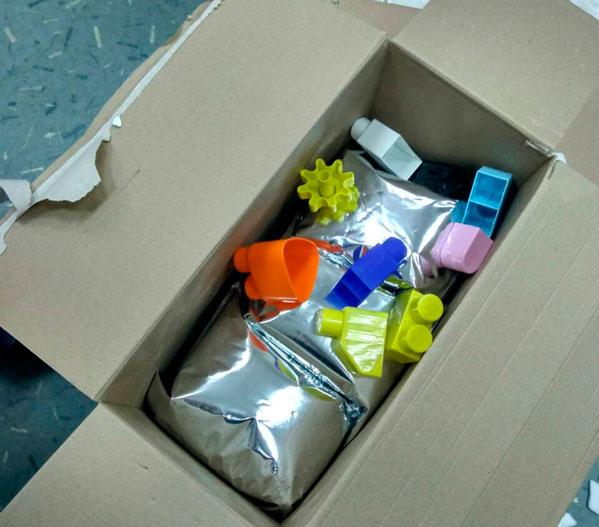 ВЧелябинске впочтовых посылках сдетскими игрушками оказалось 26кг наркотиков