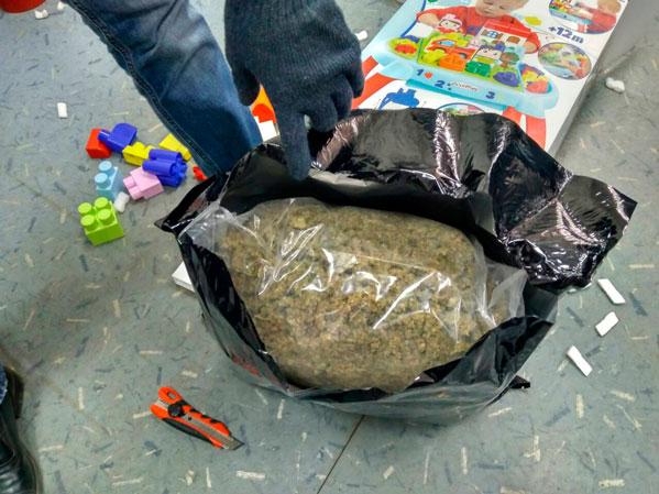Наркотики изЕвропы ввиде детских игрушек поставляли вЧелябинск
