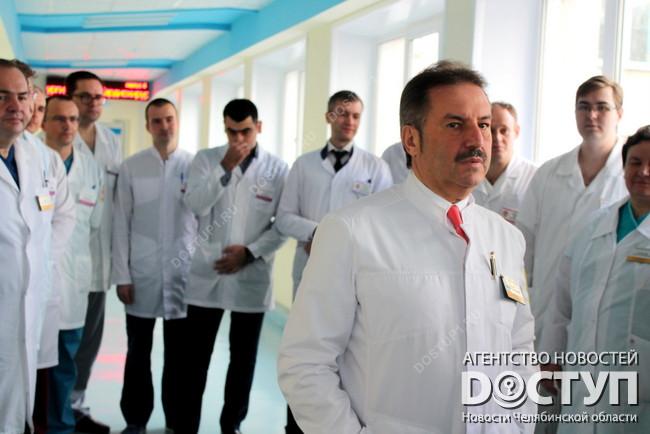 Южноуральские хирурги впервый раз пересадили сердце
