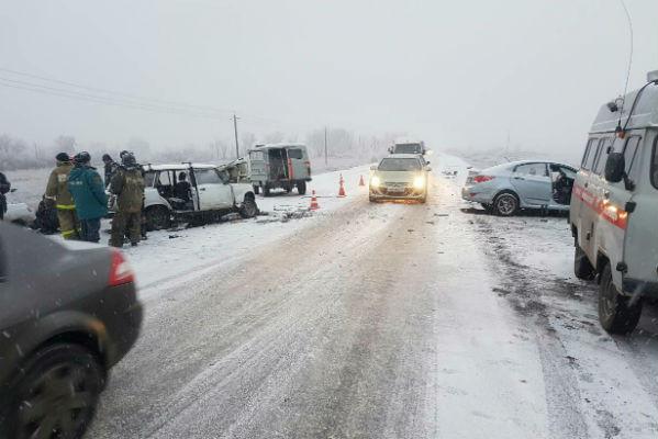 Южноуральских водителей предупреждают оснегопадах