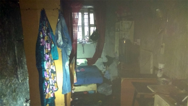 ВЧелябинске впожаре вподвале пострадал четырёхлетний ребёнок