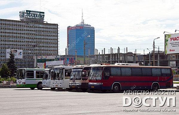 Автовокзал около замка спорта «Юность» снова переедет