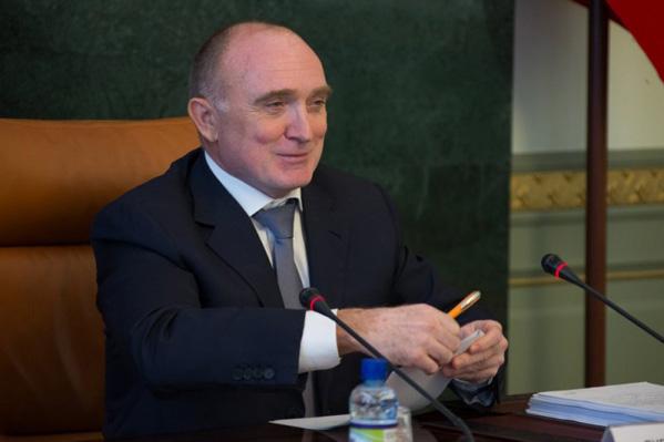 Губернатор Борис Дубровский занял первое место врейтинге популярности