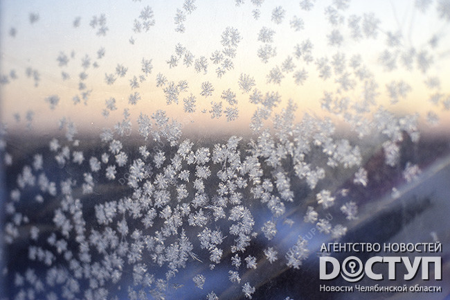 Вканун Рождества наЮжном Урале похолодает доминус 33 градусов