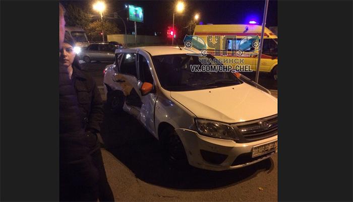 Смертельное ДТП спассажиром такси попало навидео
