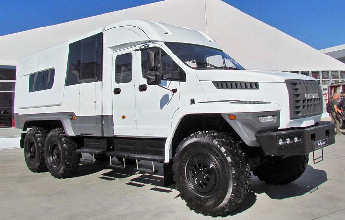 Автозавод «Урал» представляет автомобили для МЧС на выставке «Комплексная безопасность»