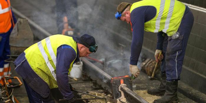 ЧМК изготовил рельсы для «бархатных» путей Московского метро