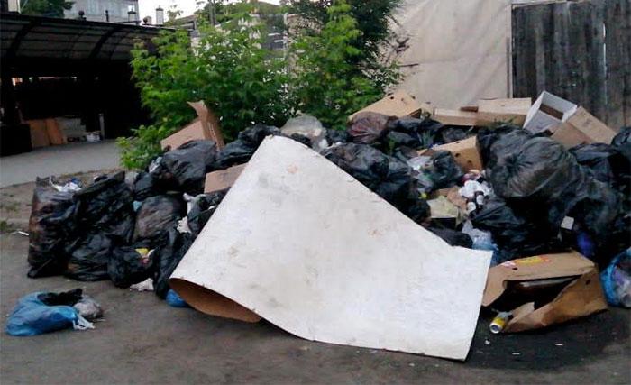 В Челябинске ликвидировали свалку возле Кировки