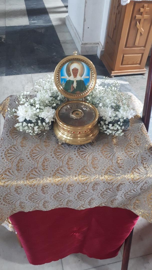 На Южный Урал привезли мощи блаженной Матроны и святителей Луки и Николая