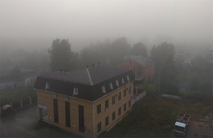 Челябинск превратился в Сайлент Хилл: город окутал туман