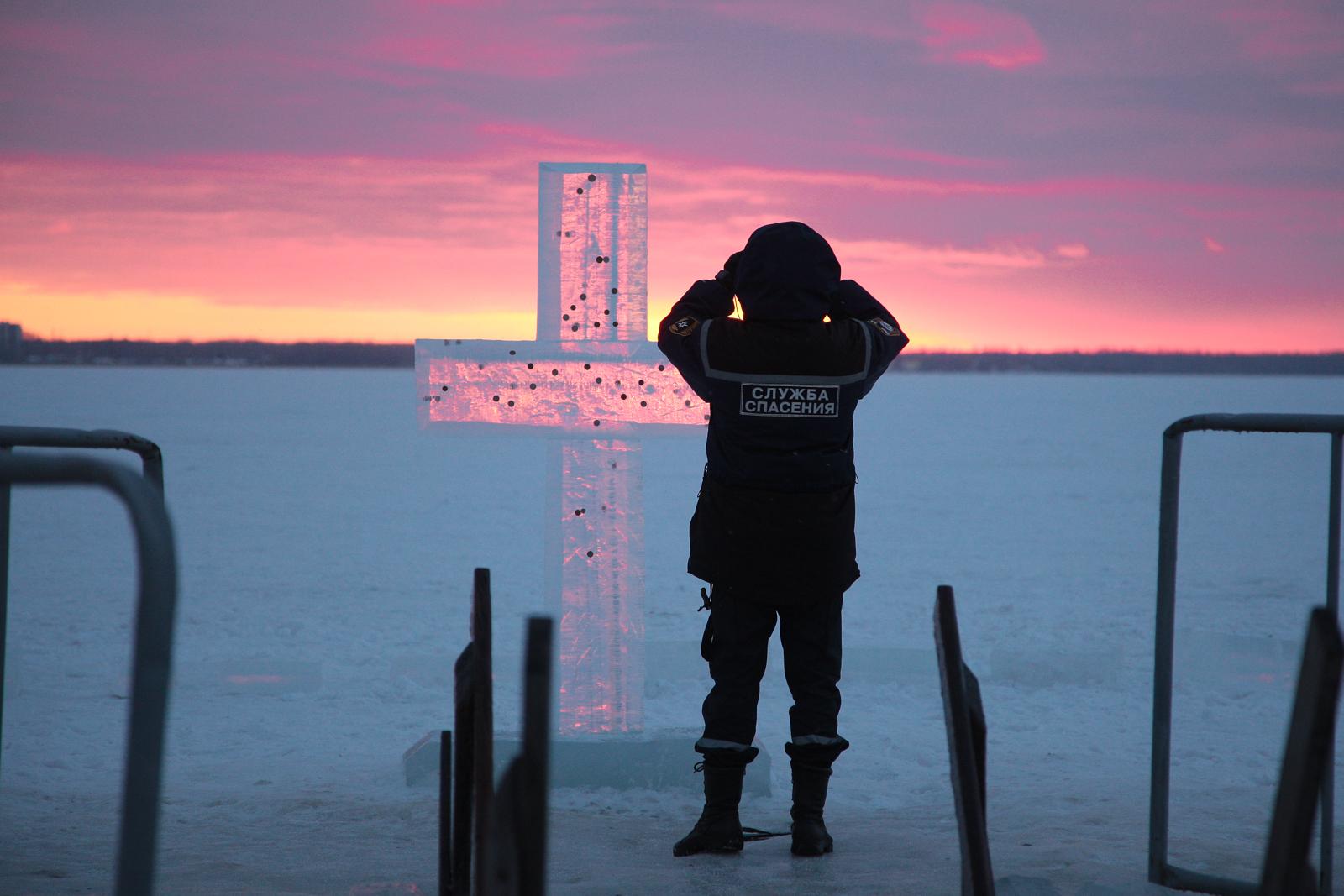 Купание на Крещение в Челябинске прошло без происшествий