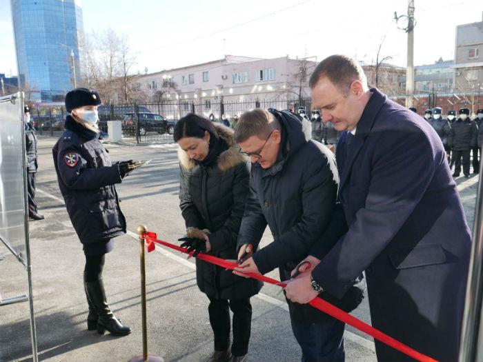 В Челябинске открылся Универсальный спорткомплекс МВД