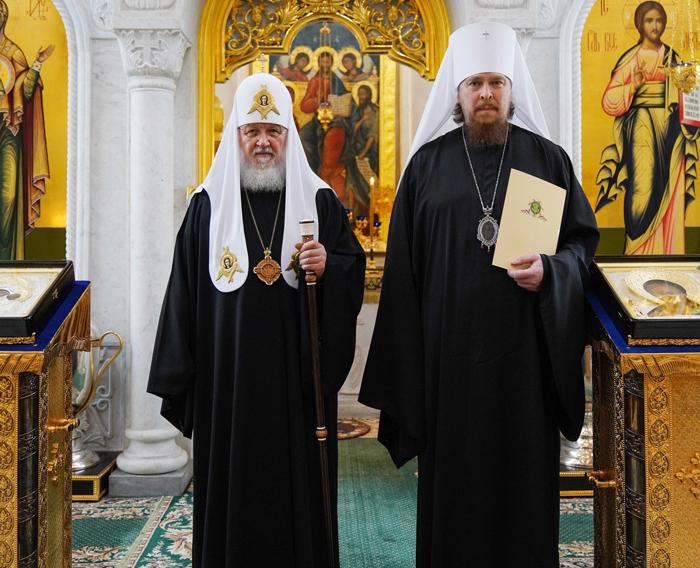 Новый глава Челябинской епархии епископ Алексий возведен в сан митрополита