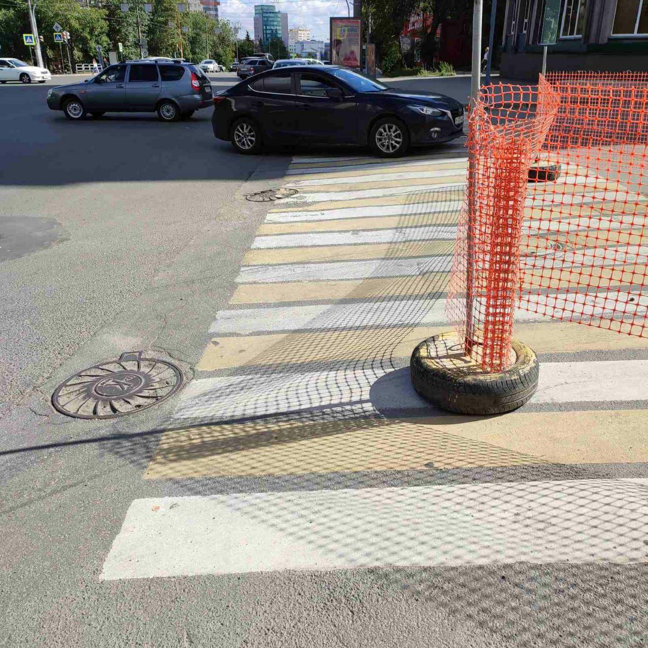 ВНИМАНИЕ. На перекрестке в центре Челябинска ограничили движение