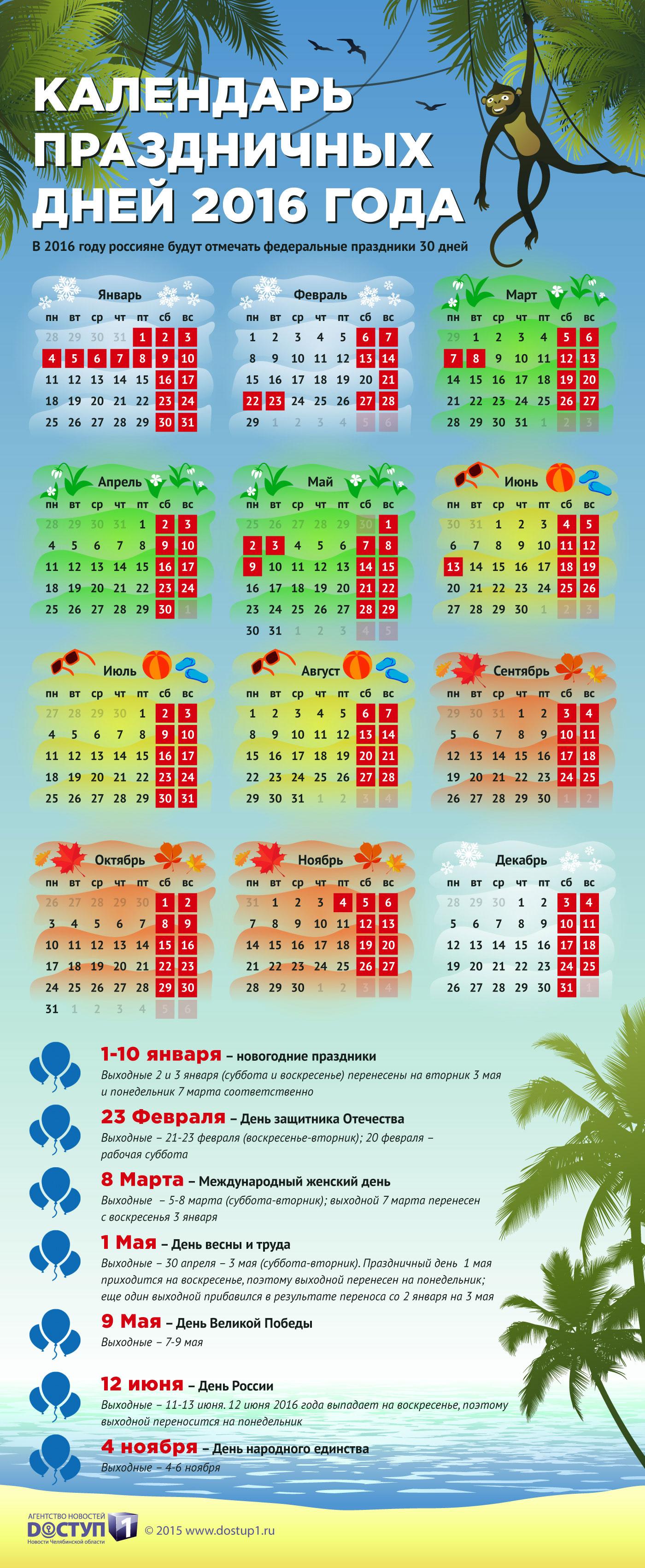Праздники 12 июня календарь